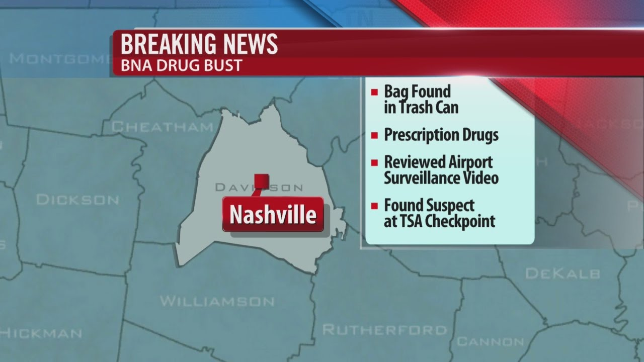 1 Arrested In Drug Bust At Nashville Airport