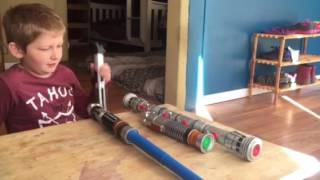 Ray's Lightsaber collection- inspired by Big Jack Films thumbnail