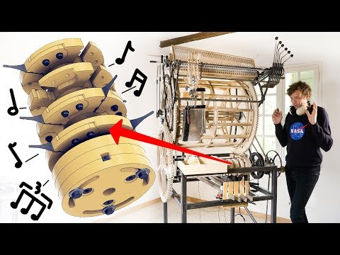 Testing the Mechanical Rhythm Machine - Marble Machine X #55