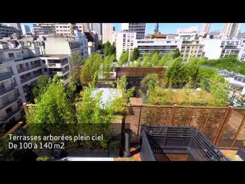 """4 maisons """"Penthouse"""" à vendre - Paris 13 Grande bibliothèque"""