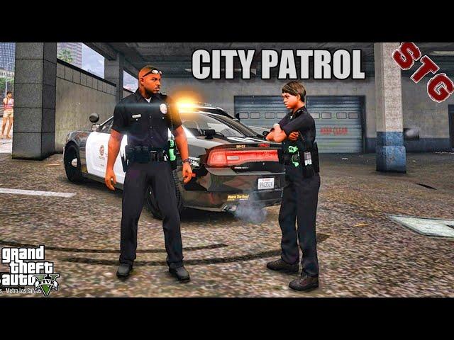 GTA 5 Mod City Live Patrol| GTA 5 Lspdfr Mod| 4K