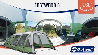 Outwell Eastwood 6 Tent - 360 video (2019)