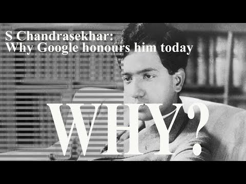 World News Today - S Chandrasekhar Why Google honours him today