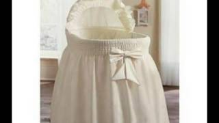 Best Deals Embossed Damask Creation Bassinet Liner/skirt & Hood Color: Ecru Size: 17x31 Best Price