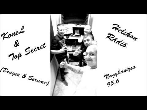 Konel & Top Secret a Helikon Rádióban (2016. 03. 11.)