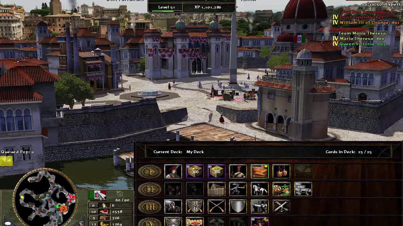 Age of Empires III Wars of Liberty, Italianos contra Austriacos ¡en los  Alpes! - YouTube