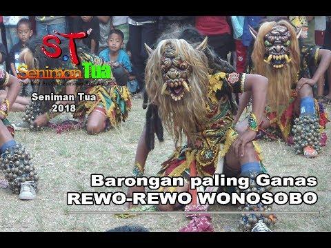 Rewo-rewo Wonosobo menantang Kuda lumping dan lengger