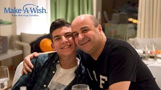 Constantine, 13... I wish to meet Markos Seferlis! Make-A-Wish GR