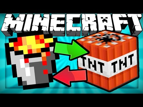 Thumbnail: If Lava and TNT Switched Places - Minecraft
