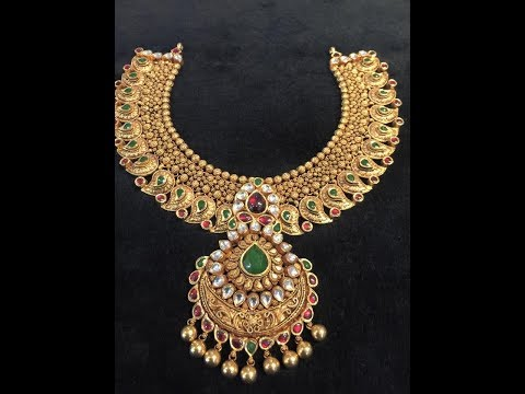 south-indian-gold-necklace-designs||-awesome-south-indian-gold-necklaces