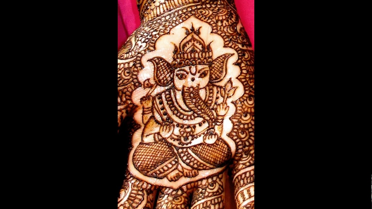 marriage mehndi design for man