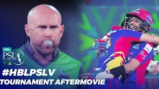 #HBLPSLV - Tournament Aftermovie   HBL PSL 2020   MB2T