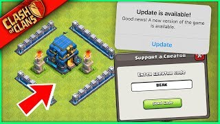 WE GOT THE ENTIRE CLASH OF CLANS UPDATE! (seriously, it's like 3 things)
