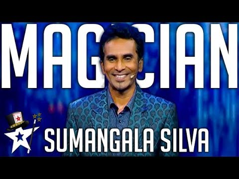 Card Illusionist Wows Judges on Sri Lanka's Got Talent | Magicians Got Talent