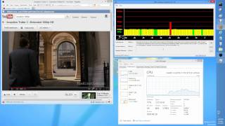 DPC Latency Test on Win 8 Pro RTM x64 with nVidia 304.79 Beta