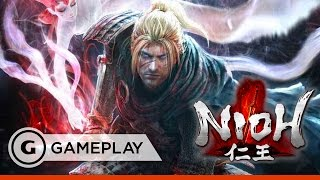 Nioh - Ice Queen Battle - TGS 2016