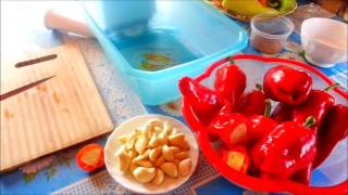 канкочи - острая приправа  по-корейски для чимчи (кимчи) видео рецепт