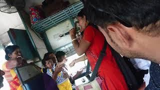 Lady train singer | Tata to Howrah | India Got Talent 2