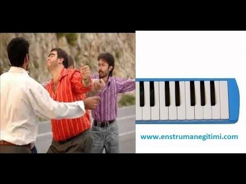 Melodika Eğitimi - Ha Babam Ha Melodika ( Vicdanında Ar Kalmamış ) Melodika