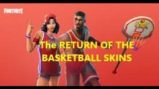 The RETURN of the Basketball Skins in Fortnite! (Fortnite Theory)