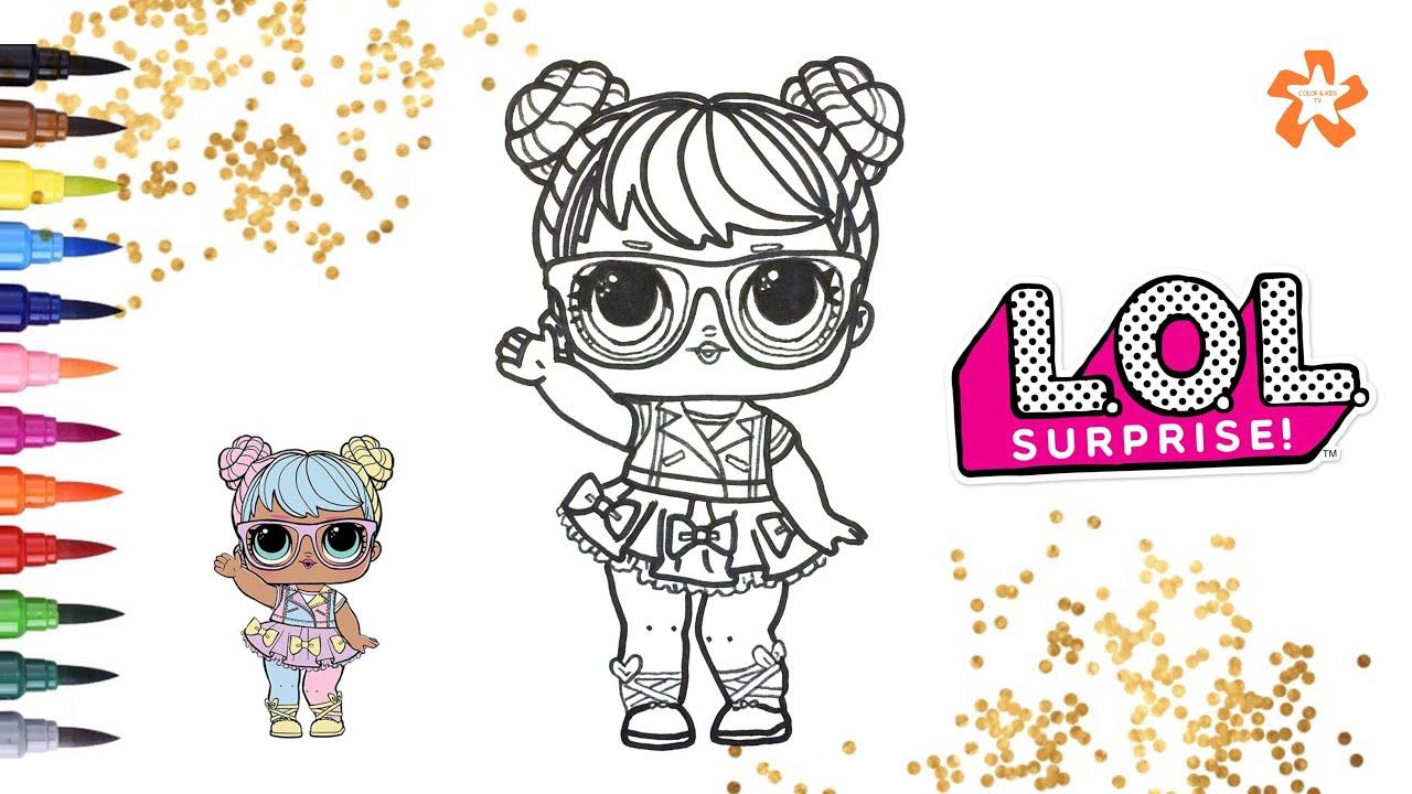 L O L Surprise Bon Bon Series 2 How To Color Baby Doll
