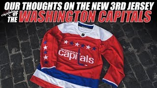 Our Thoughts on the New Washington Capitals 3rd Jersey