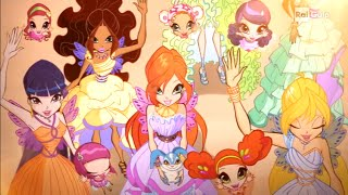 Winx Club Season 6 Episode 26  Winx Forever: Daphne's and Thoren's Wedding  Italian