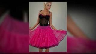 Brightly Soft Chiffon petticoat dreams