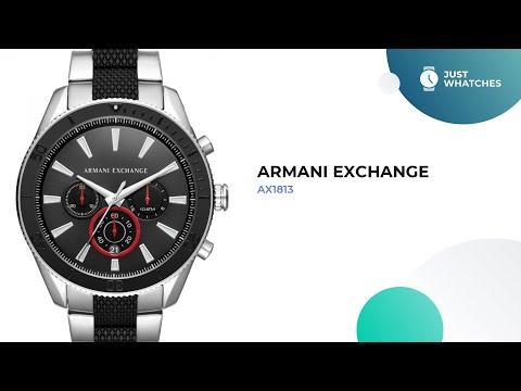 Trendy Armani Exchange AX1813 Men Watches Features, Prices, Detailed Specs