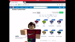 ROBLOX HOW TO GET FREE SHIRTS AND PANTS ON IOS (need builders club and sorry about some of my voice)