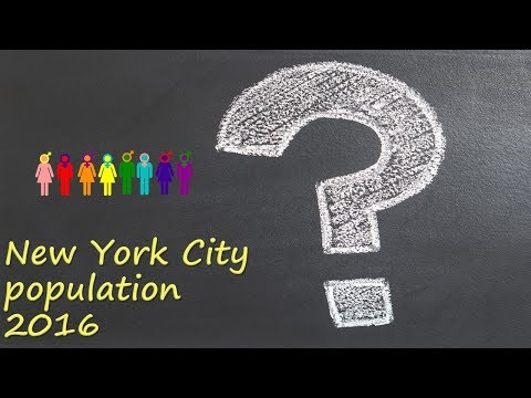 New York City population 2016?