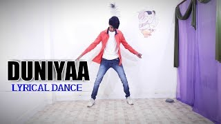 #DUNIYAA Duniyaa dance video | Luka chuppi | Lyrical dance choreography by Lucky panchal dance