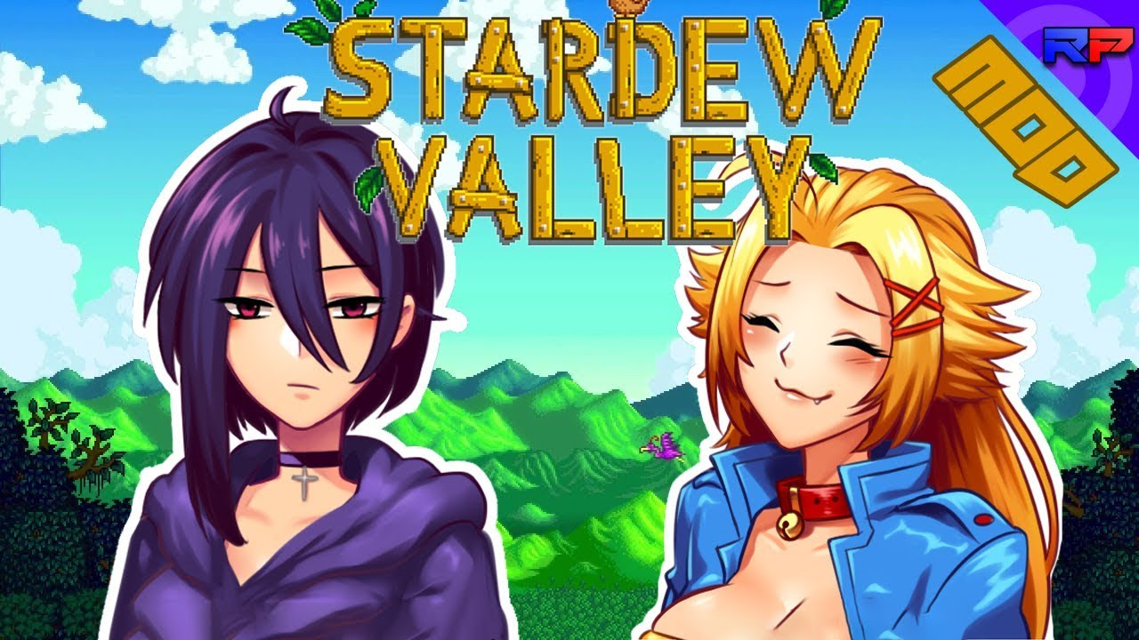 THE HOTTEST GIRLS ARE DUDES? | Stardew Valley Mods | RebusPlays