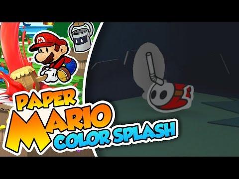 Posesión Shyguy!! - #07 - Paper Mario Color Splash (Wii U) en Español