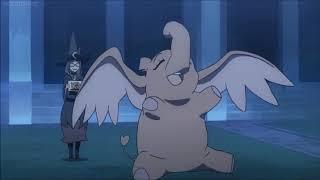 Little Witch Academia - Akko transforms into Elephant