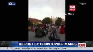 CNN: Quake strands iReporter at Disneyland thumbnail