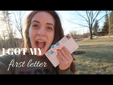 I GOT MY FIRST LETTER | Marine Girlfriend| Bootcamp Week 2