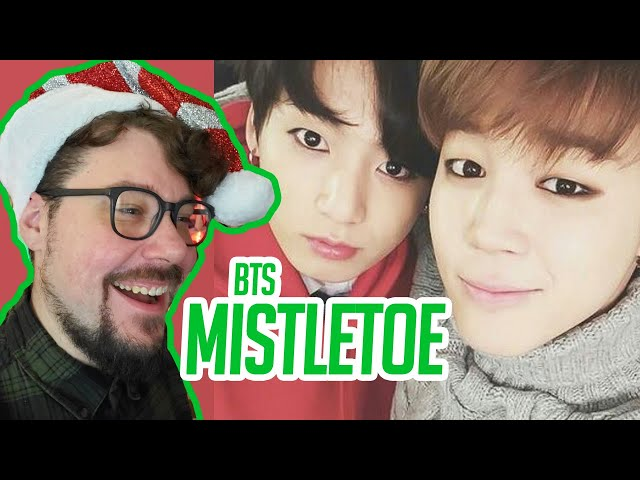 Mikey Reacts to BTS - Mistletoe (Christmas Day)