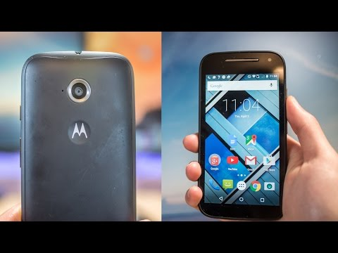 Moto E (2015 2nd Gen) Review - Best Low Cost Phone with 4G LTE?
