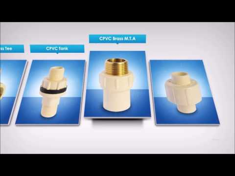 Plumbing Piping Cpvc and Upvc Pipe Fitting