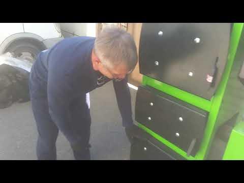 Обзор пеллетного котла GREEN LUX40