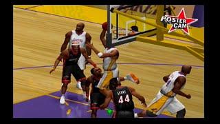 NBA Shootout 2004 (PS2) Lakers Season Game #4
