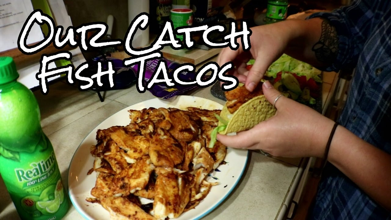 Making fish tacos with striper from clark 39 s hill youtube for Making fish tacos