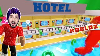 Roblox: HOTEL KAAN FLIEHT BEFORE THE CRAZY HOTEL MANAGER! Escape The Hotel Obby