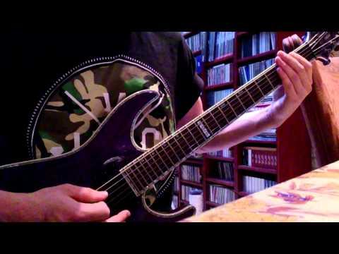 The Devil Wears Prada - Born to lose (Guitar cover)