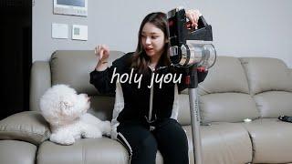 인빅터스X9 무선물걸레청소기 굿이넹!?