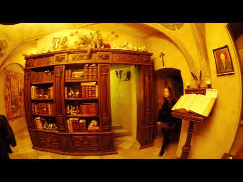 Most Mysterious Alchemy Lab and heart of occultism Prague