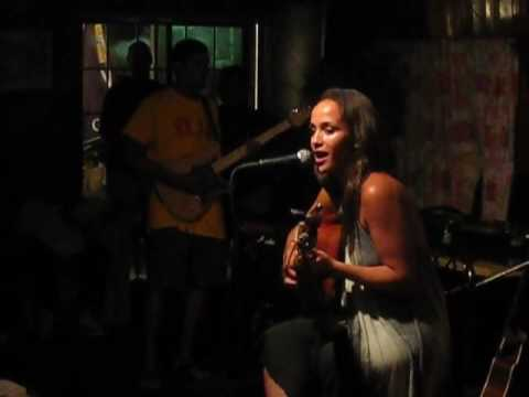 """Blame It"" (Jamie Foxx cover) by Rachel Brown @ Chewstick (Bermuda) 8/16/09"