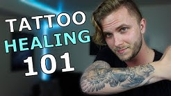 Tattoo Aftercare Routine  | Tattoo Healing Process