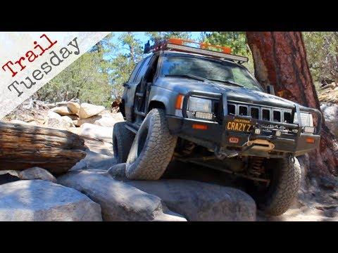 Jeep Grand Cherokee ZJ Tackles John Bull and Holcomb Creek